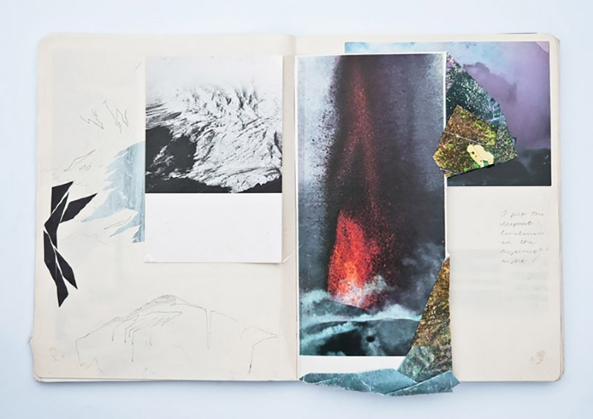 sketchbook iceland Elisa Vendramin illustration
