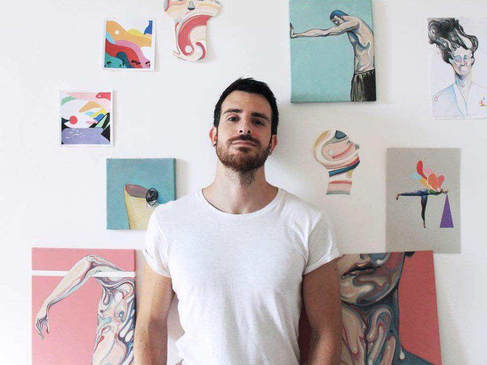 Nicolo Canova interview Torino artist