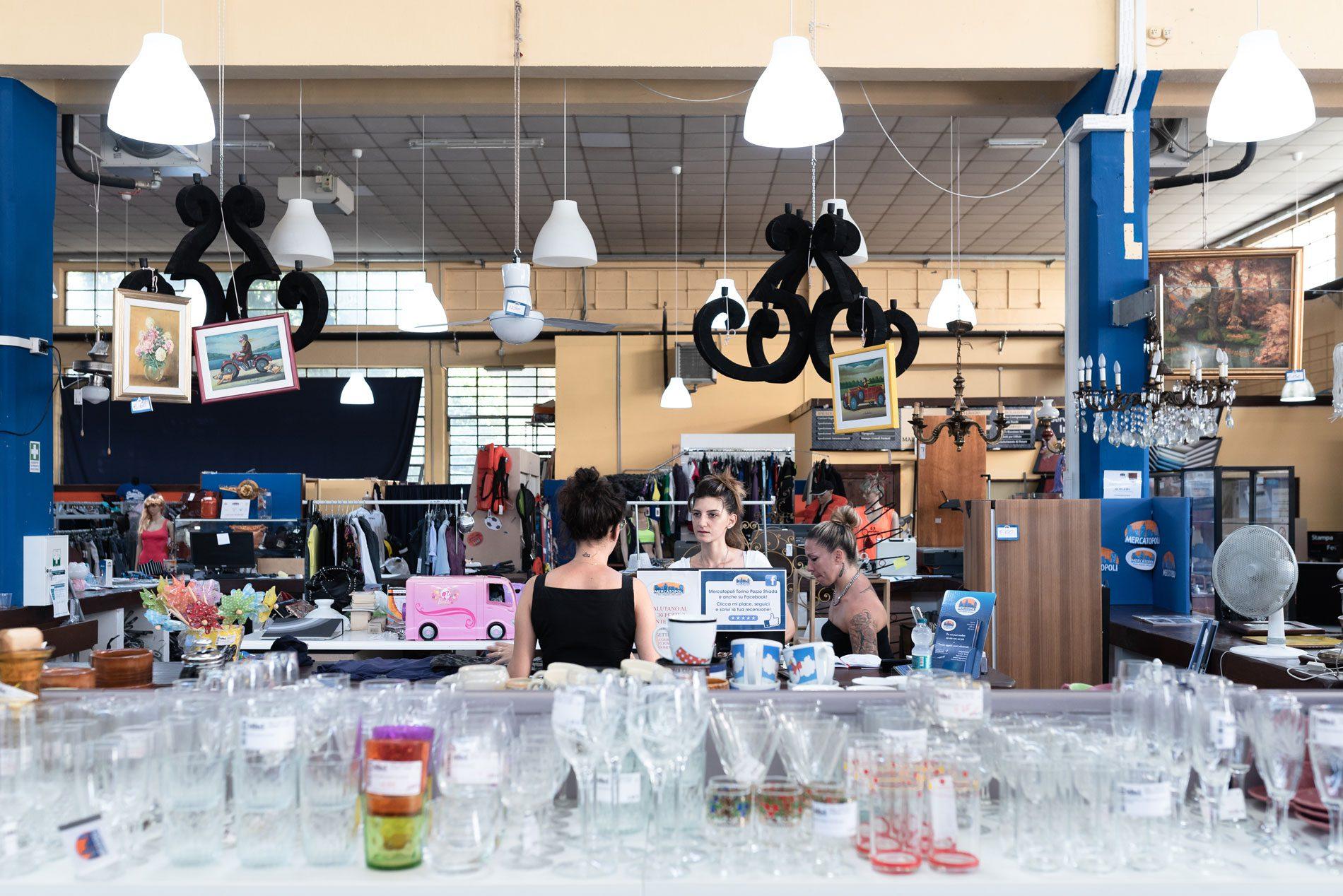 mercatopoli negozio dell'usato a torino