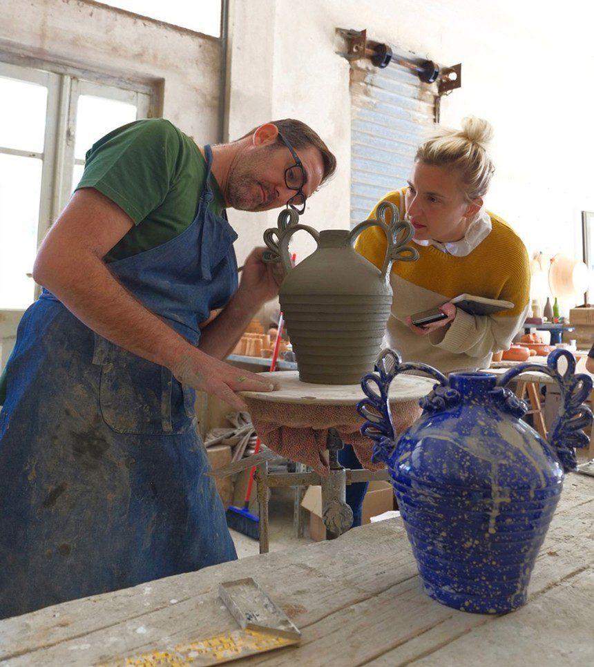 Pretziada Sardinia independent design handcraft