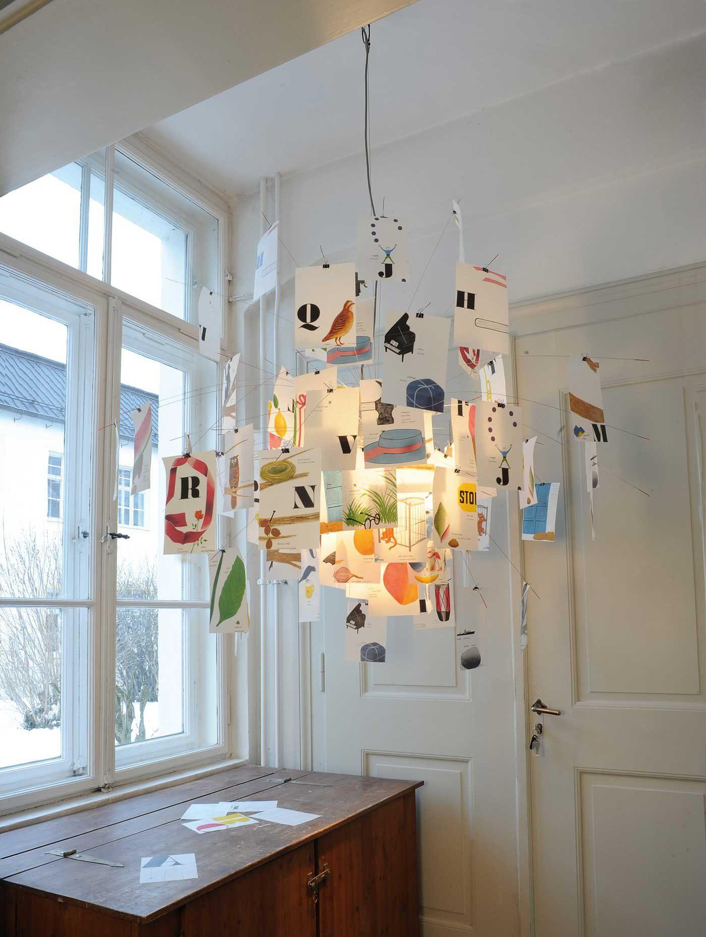 Zettel'z Ingo Maurer illuminazione a sospensione icona design