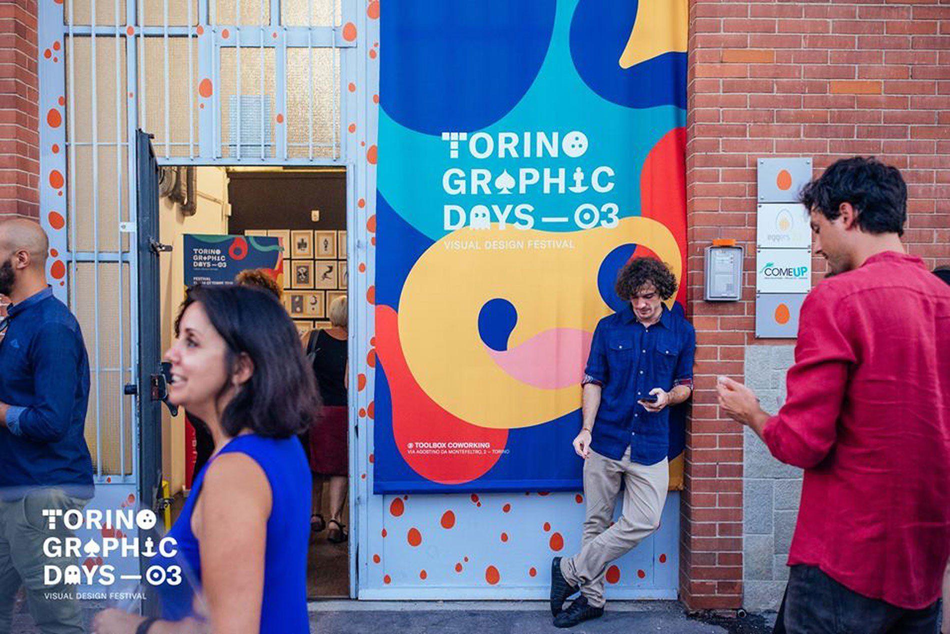 Torino Graphic Days festival illustration autumn