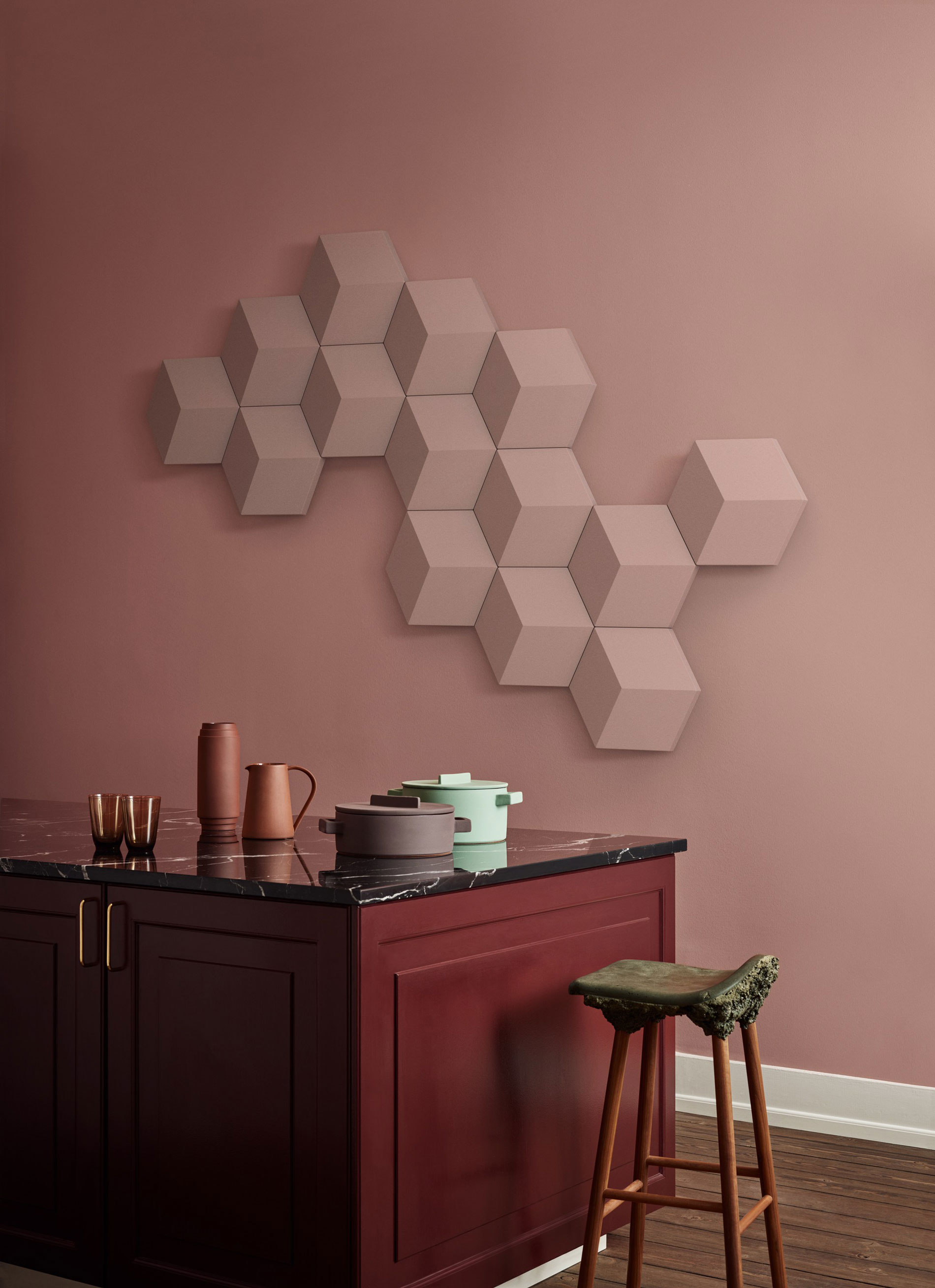 BeoSound Shape wall decor interior