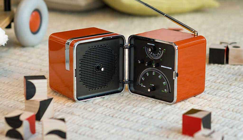 radio brionvega radiocubo-ts525 icona design zanuso sapper
