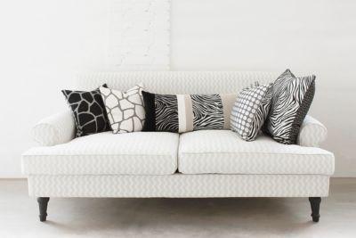 cuscini come disporre i cuscini sul divano