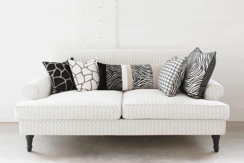 Arredare con i cuscini come disporre i cuscini sul - Cuscini decorativi ...