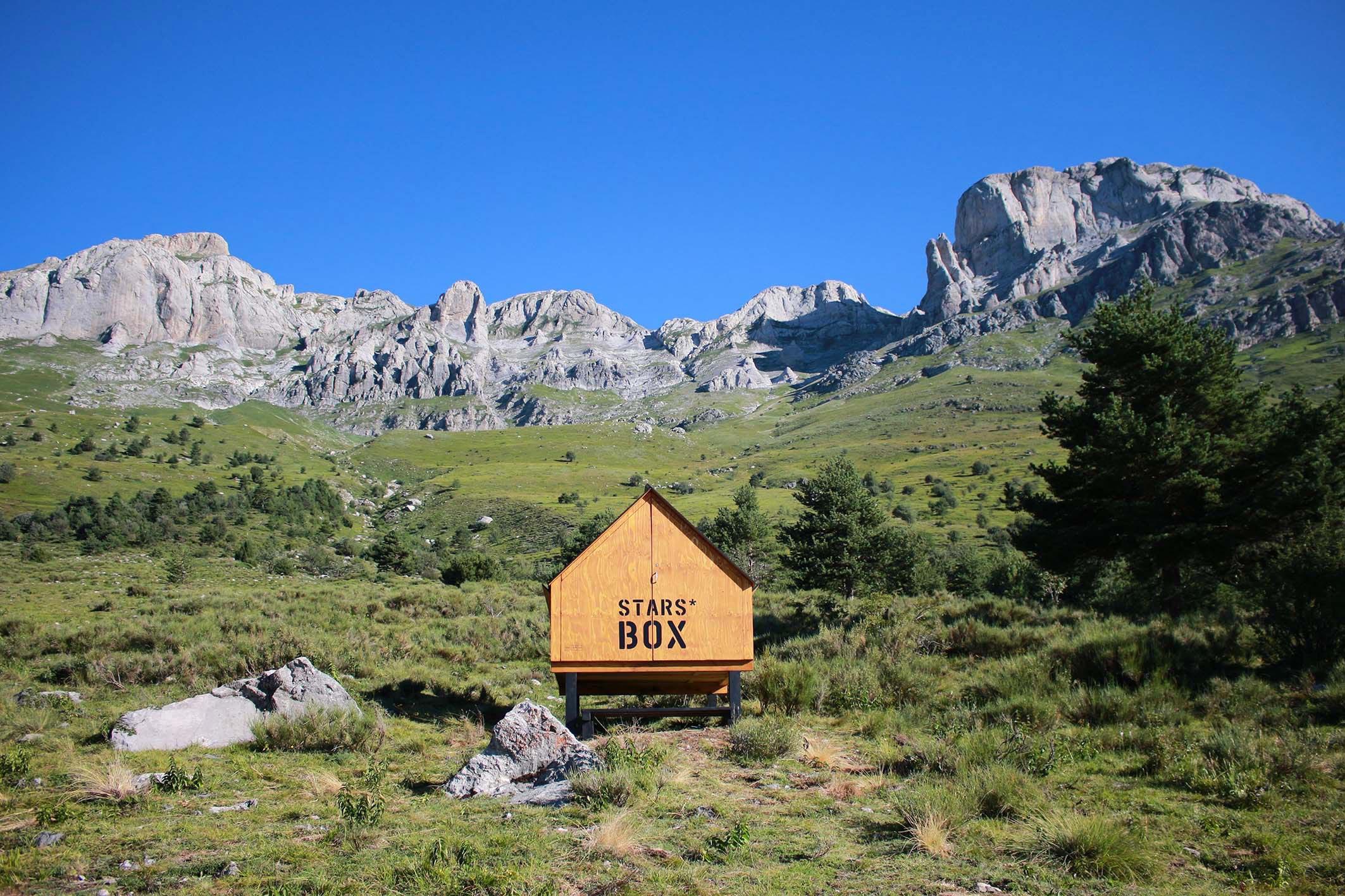 starsbox capsule hotel in montagna