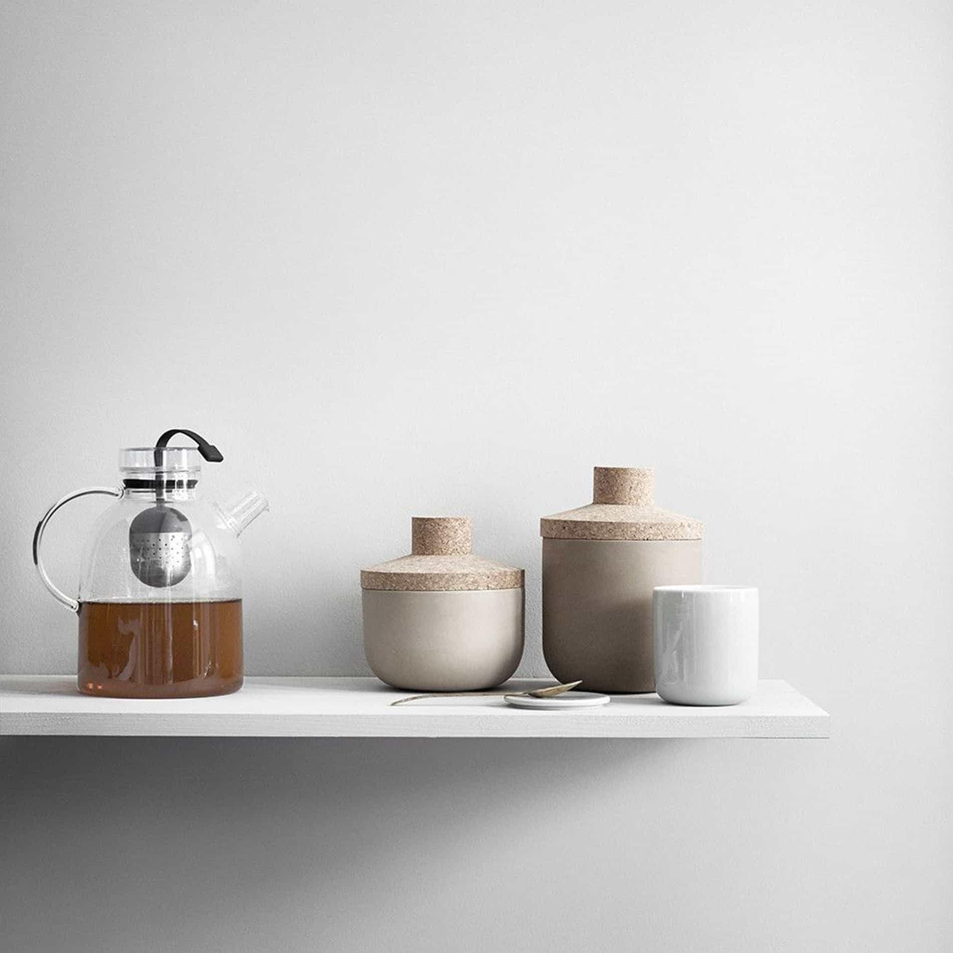 Menu design teapots living