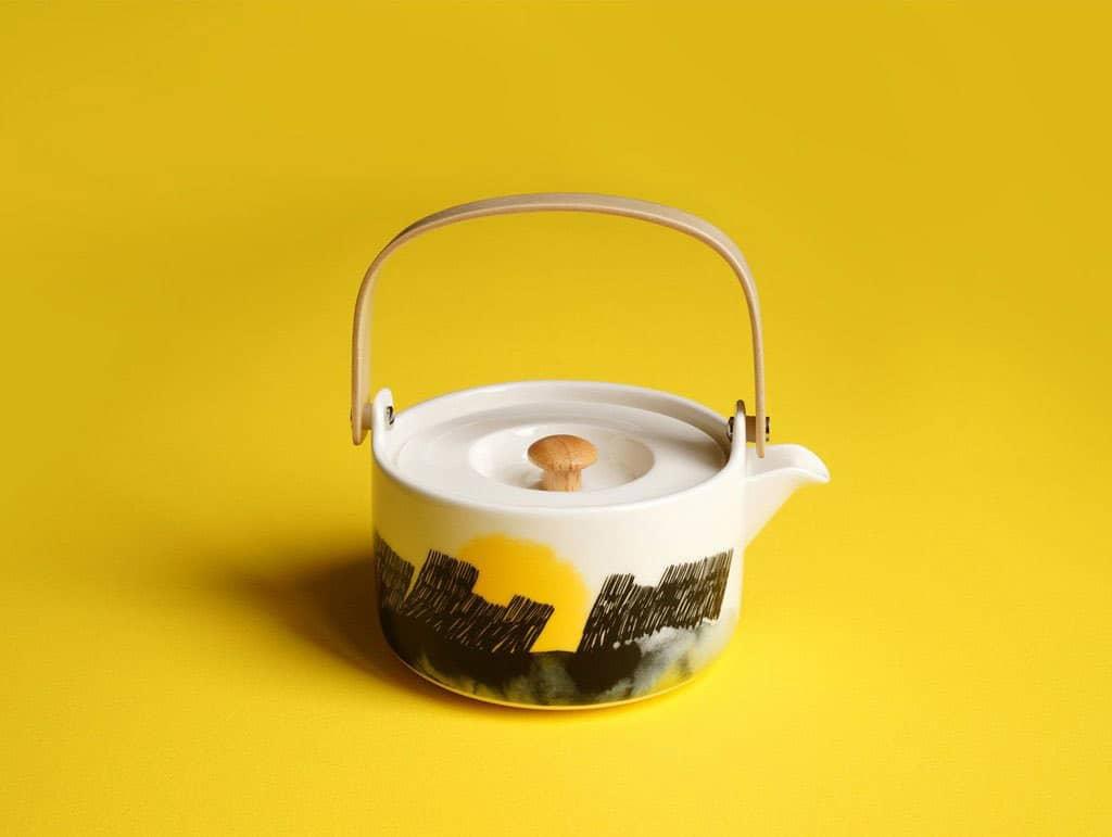 Marimekko design teapots living