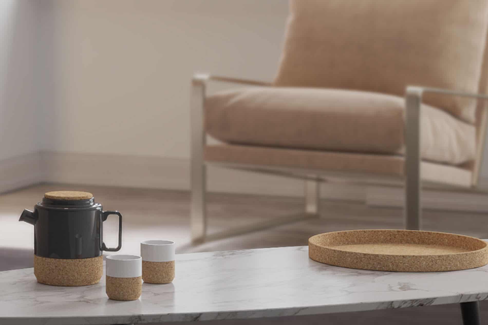 Alma Gemea design teapots living