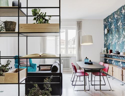 HOME TOUR | COLOURING AND DIAGONALS IN THE HEART OF TURIN