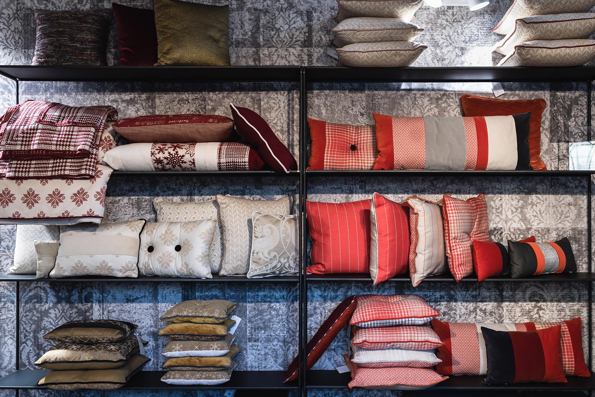 negozio di tessuti Torino l'opificio