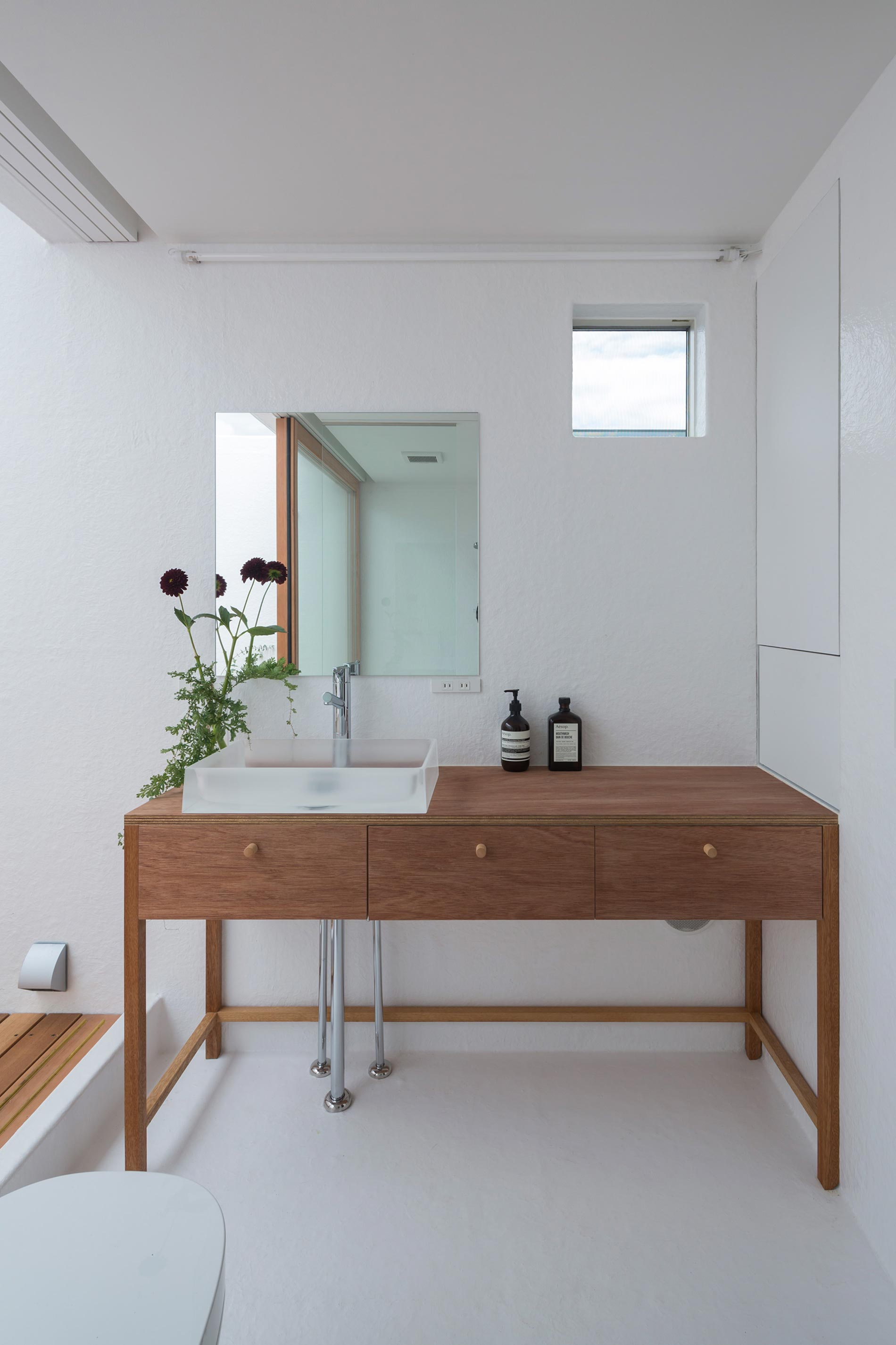 home tour giappone bagno