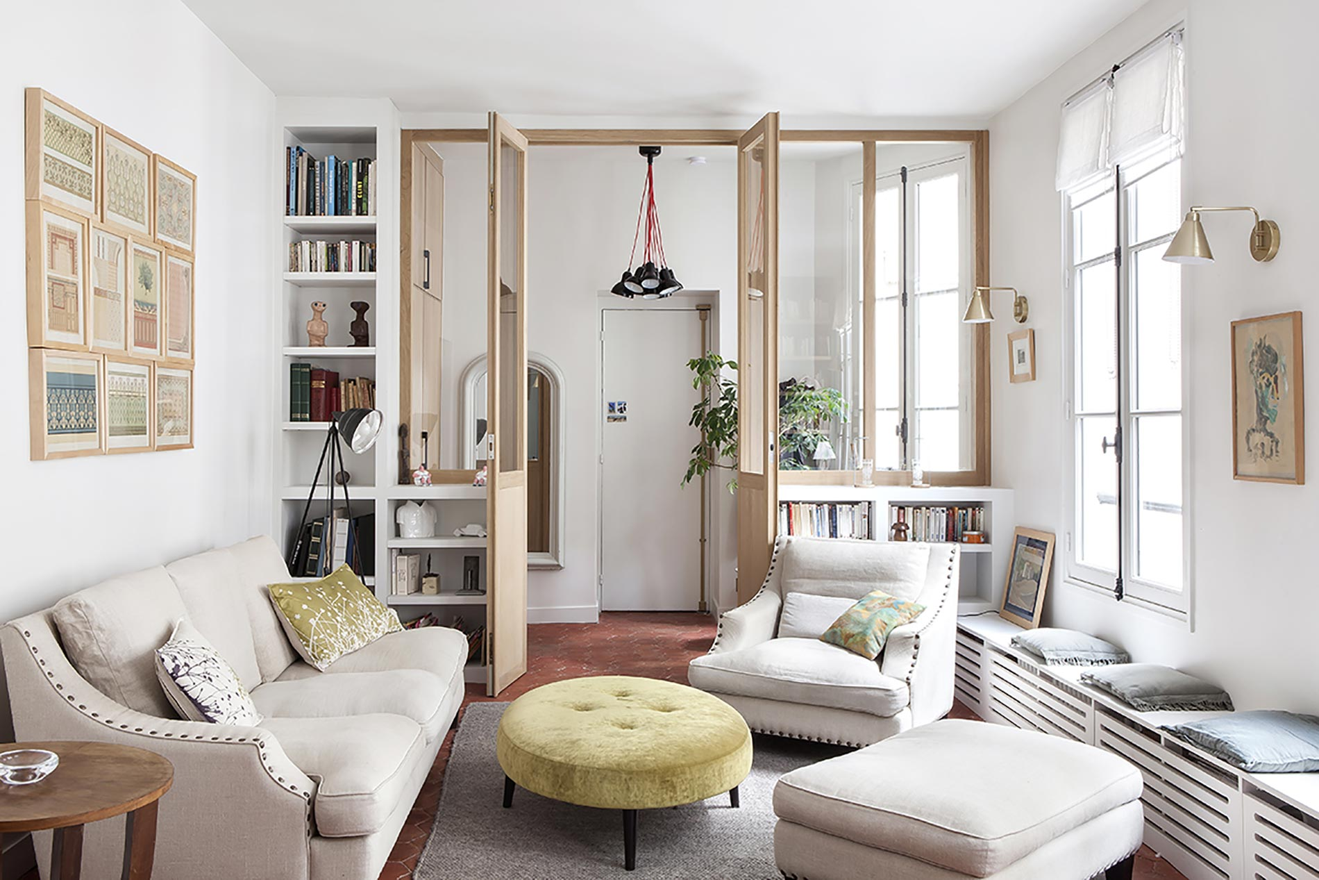 home tour parigi san valentino living