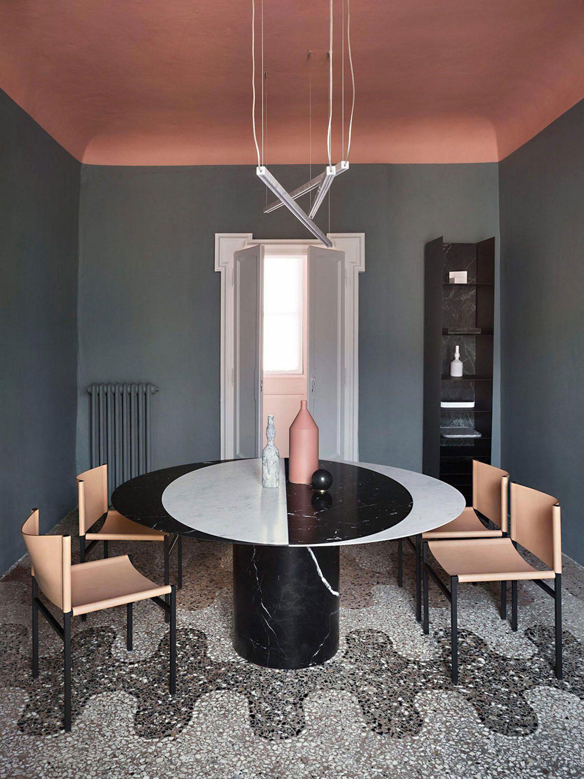 interior trends soffitti colorati