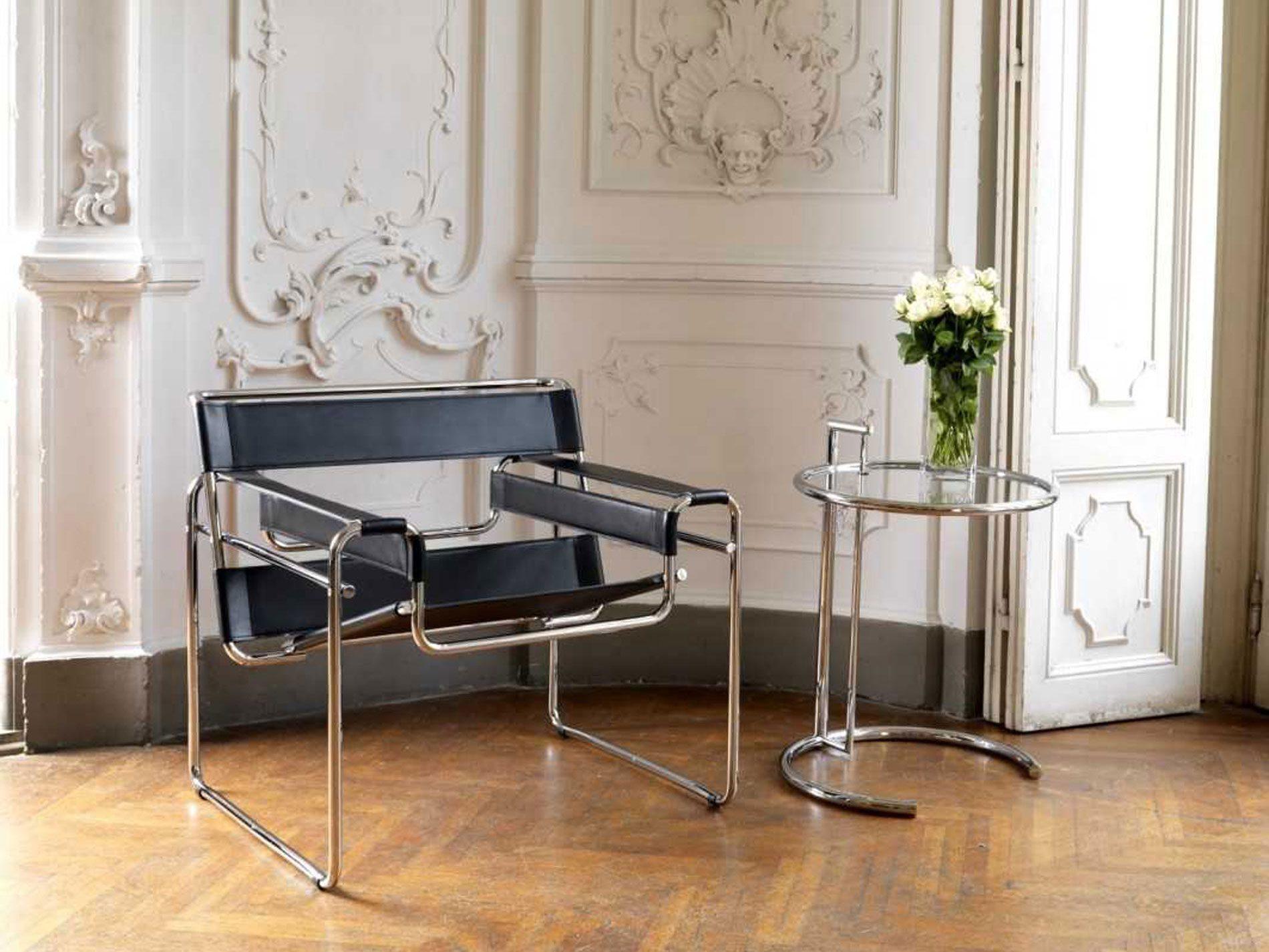 Icone del design la sedia wassily di breuer unprogetto for La sedia nel design