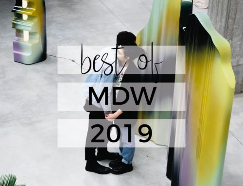 BEST OF MILANO DESIGN WEEK 2019 | CIÓ CHE MI PORTO A CASA