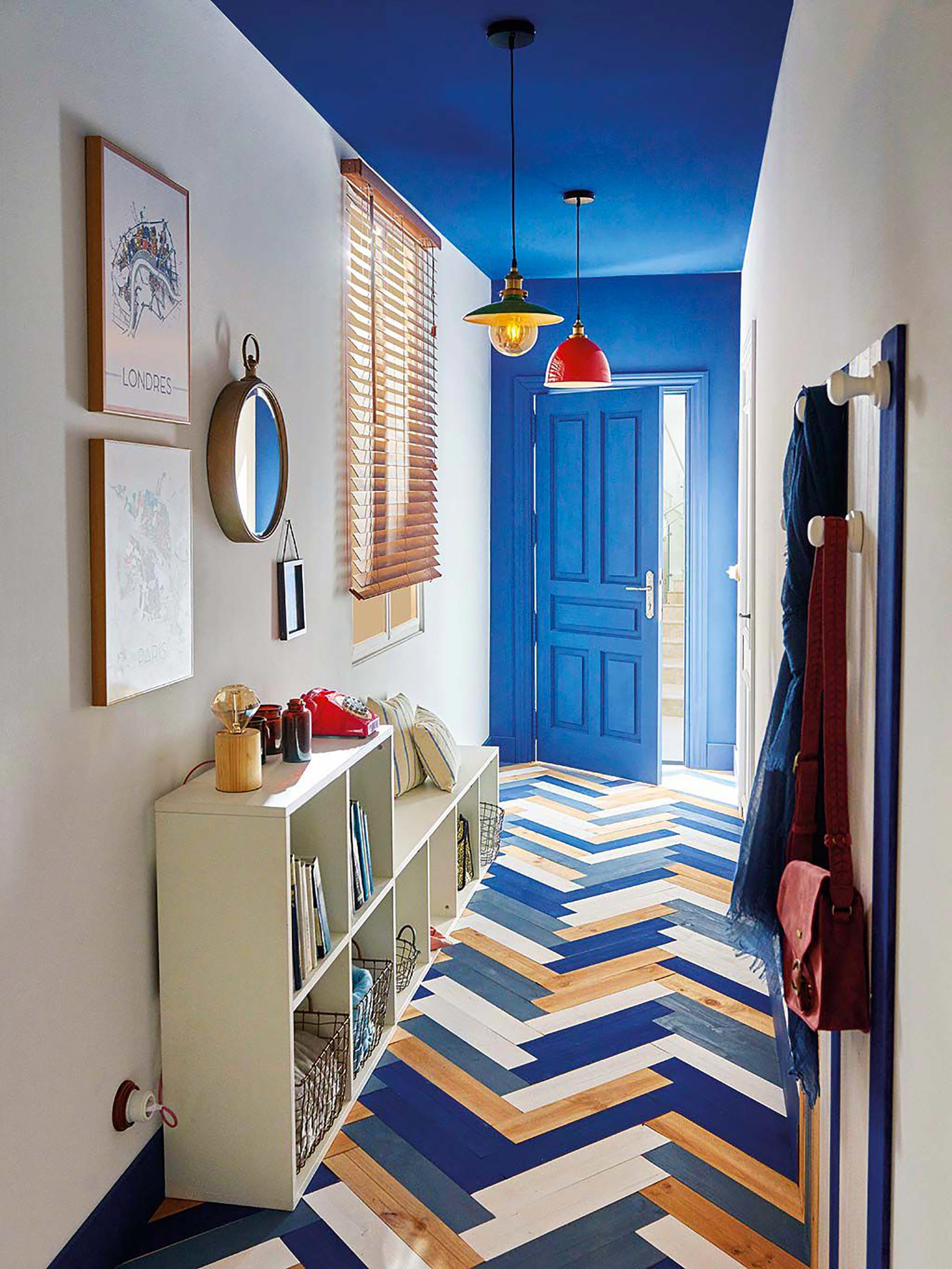 soffitto colorato ispirazioni soffitto blu