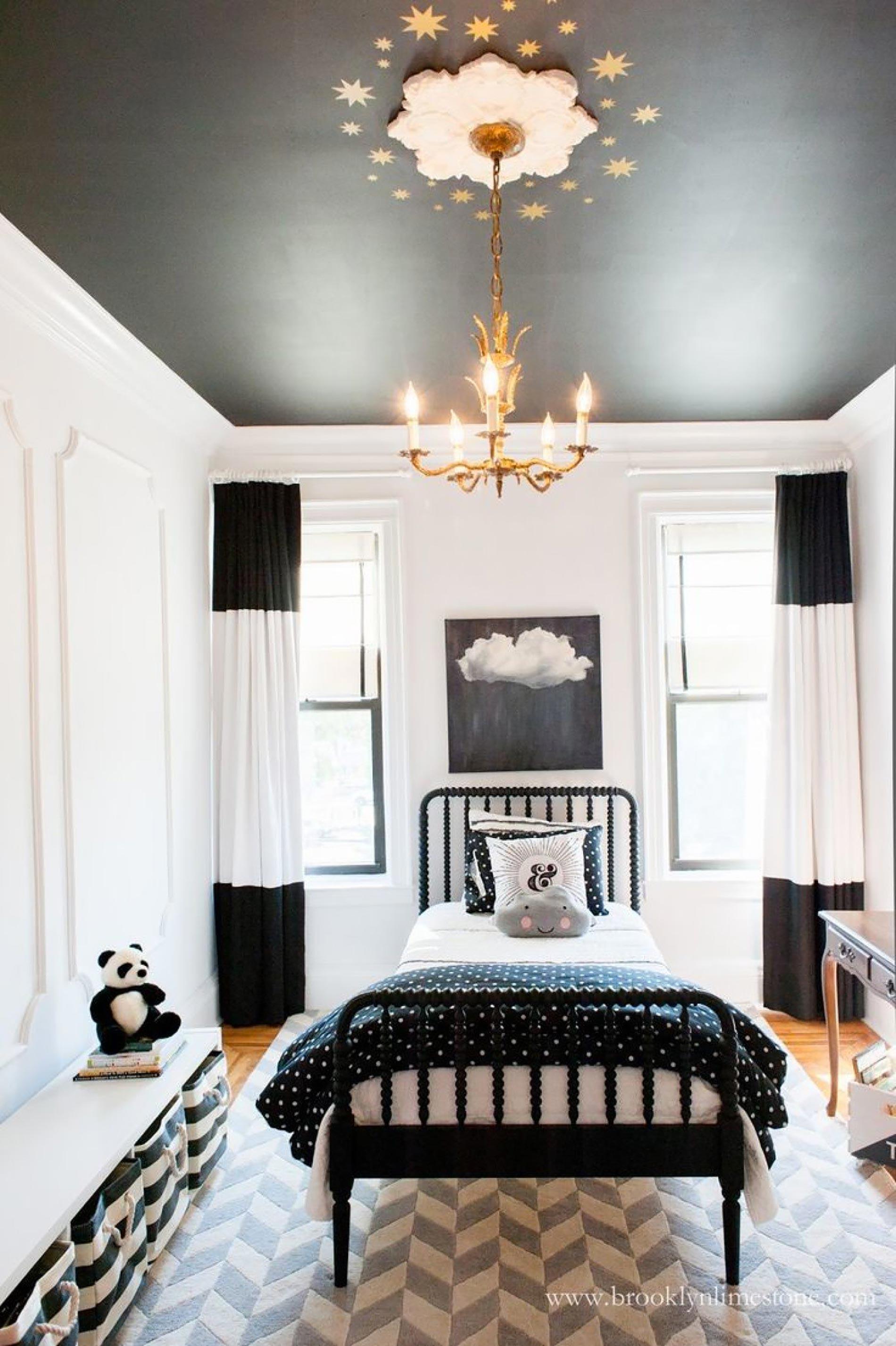 soffitto colorato ispirazioni soffitto nero soffitti colorati