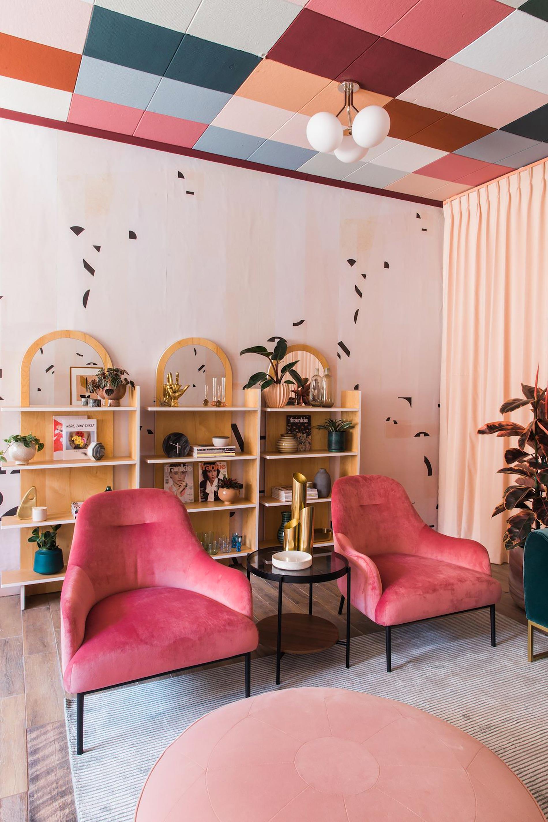 soffitto colorato ispirazioni soffitti colorati