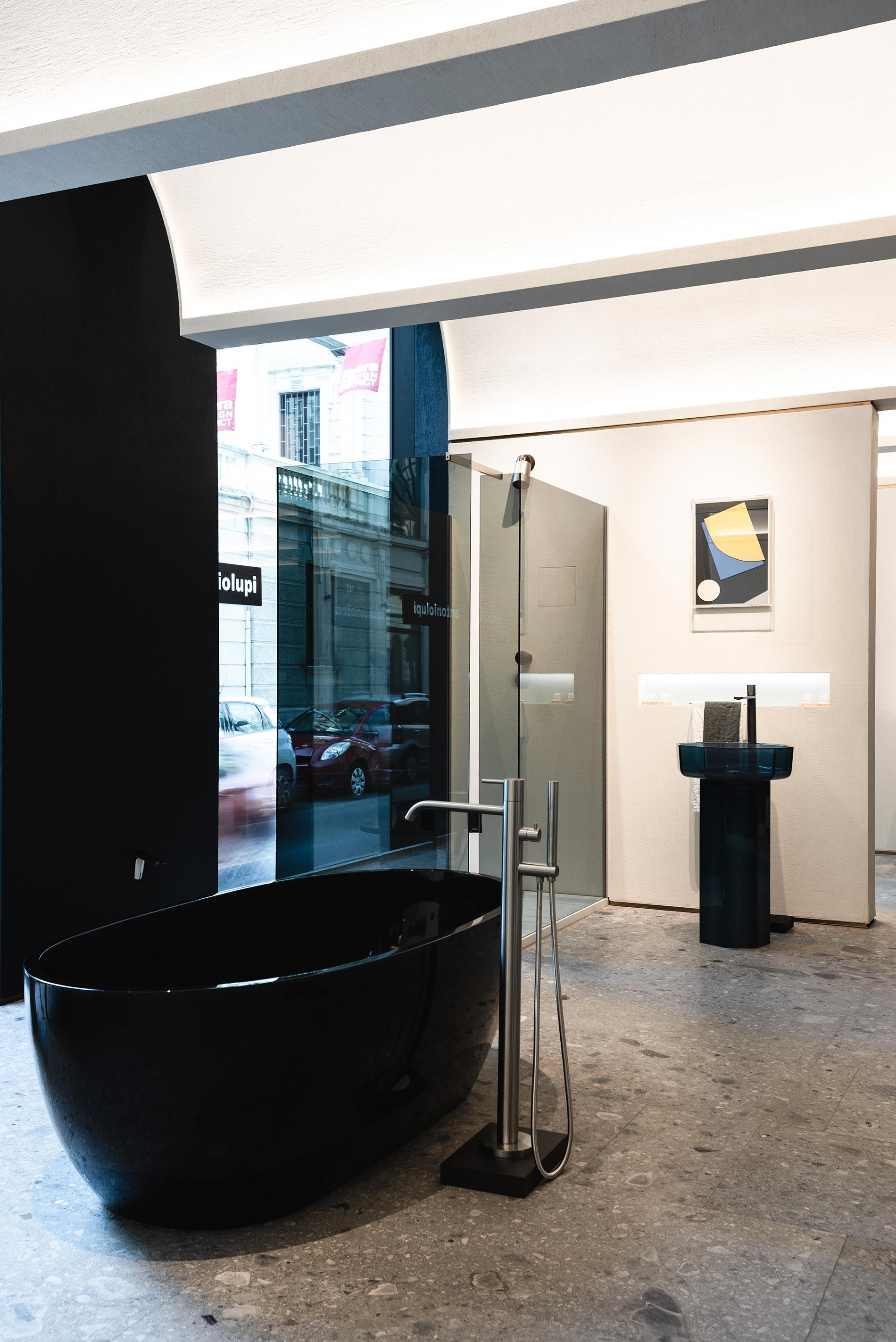 antoniolupi showroom milano arredobagno calvi brambilla