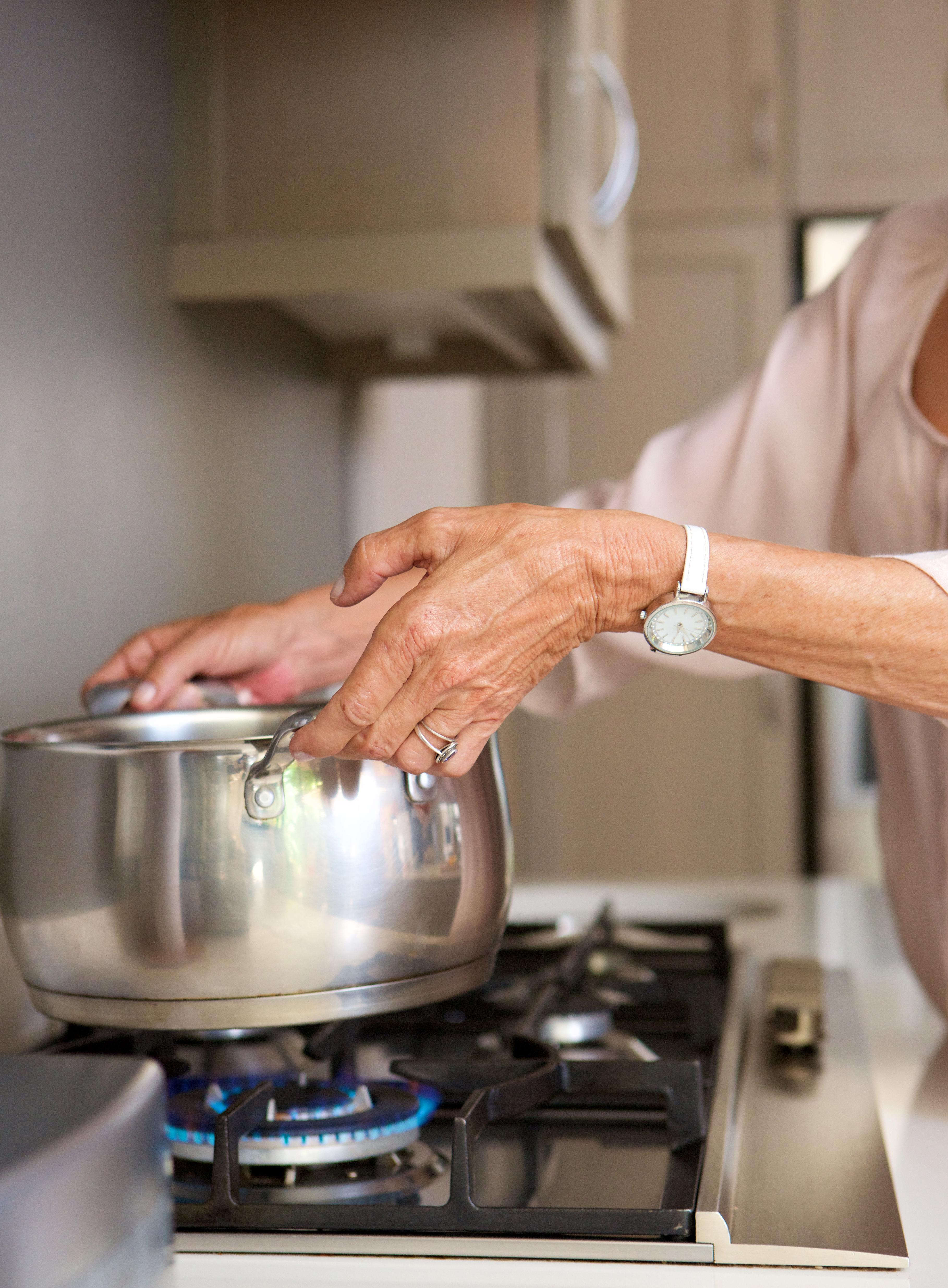 cucinare con i fornelli a gas
