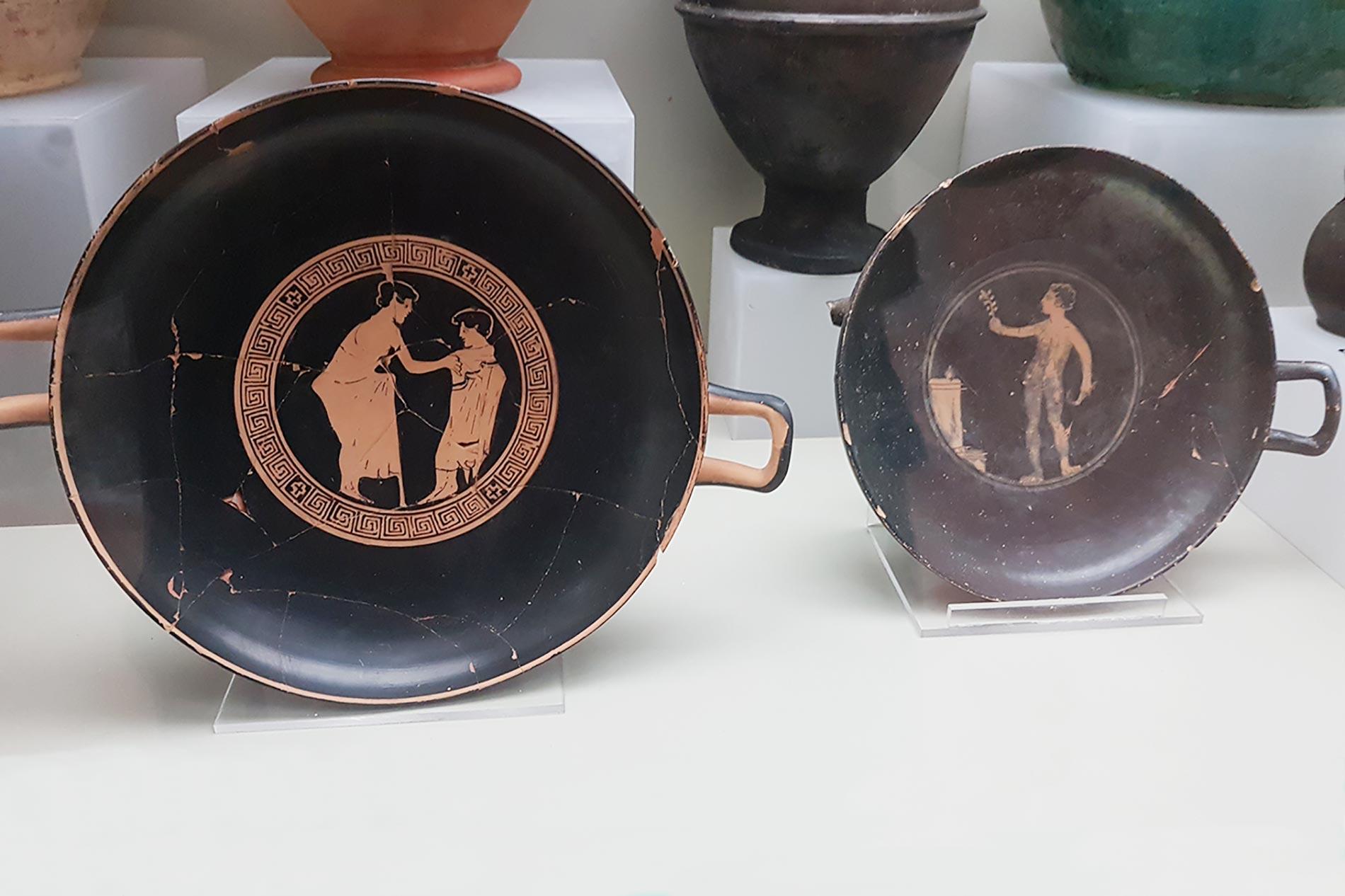 ceramica falisca distretto ceramico di civita castellana