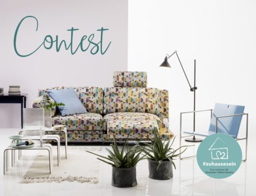 #ZUHAUSESEIN #BEINGATHOME | WIN A PIECE OF FURNITURE AND NOT ONLY