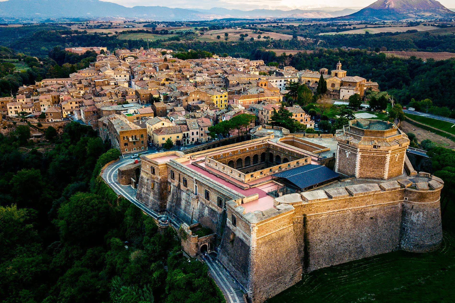 forte sangallo distretto di civita castellana