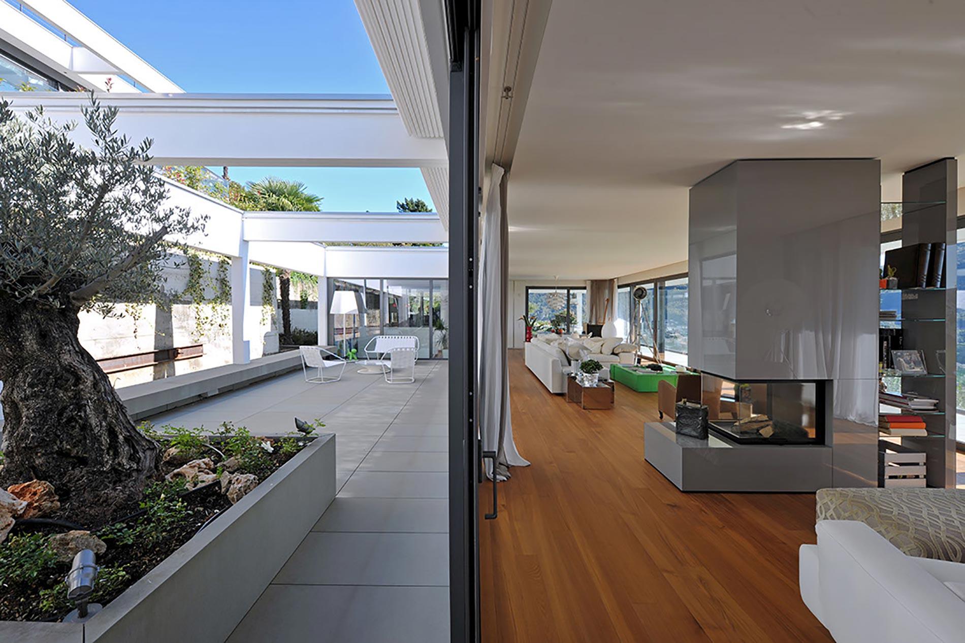 villa-lugano-antoniolupi---ingresso-living