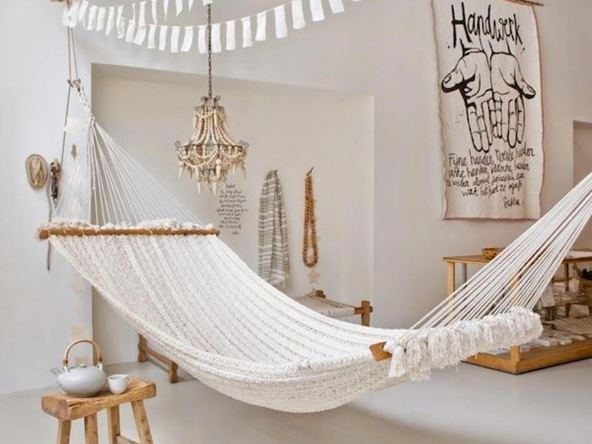 amaca per interni relax in casa