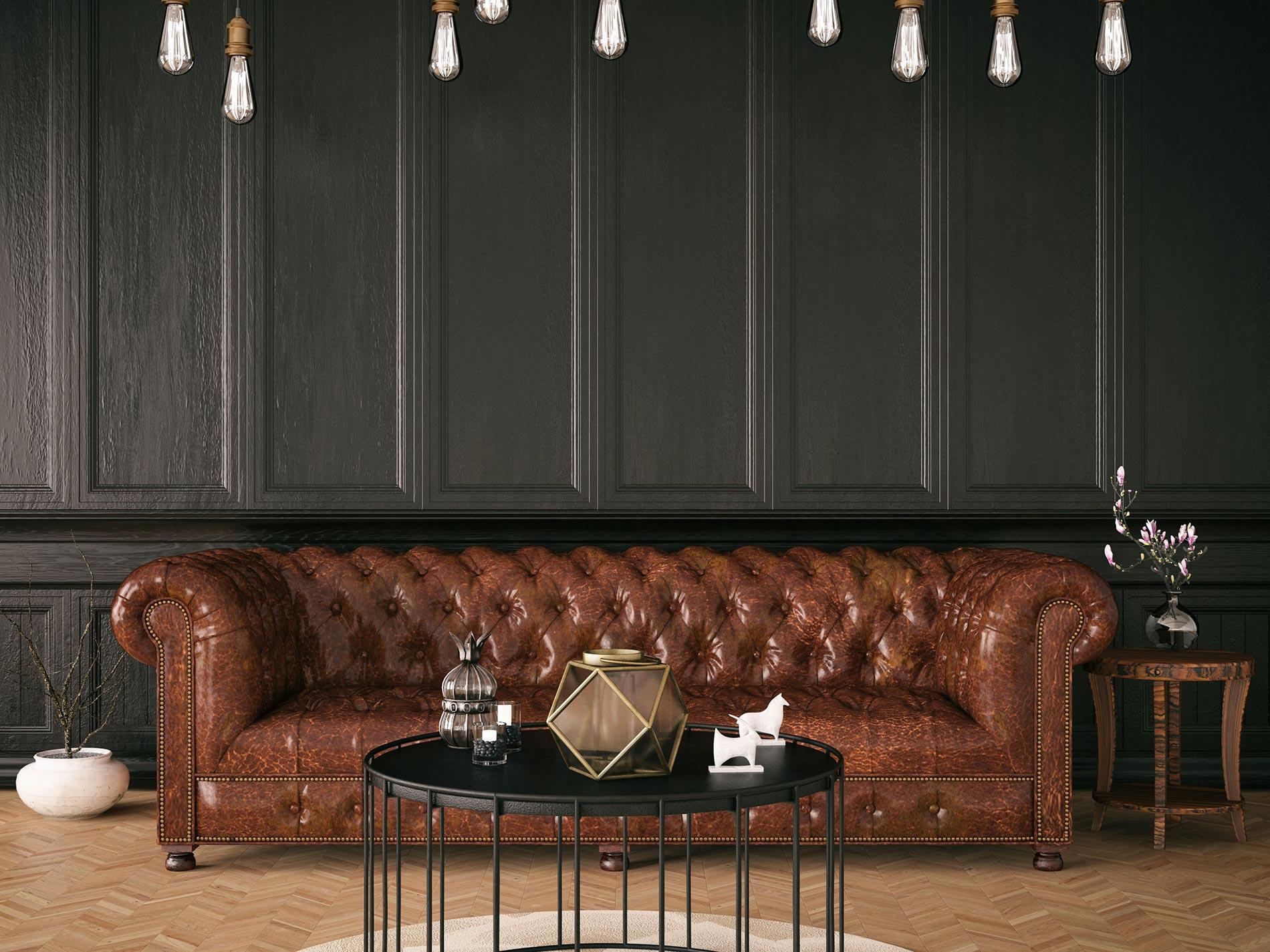divano chesterfield in pelle origine come si crea