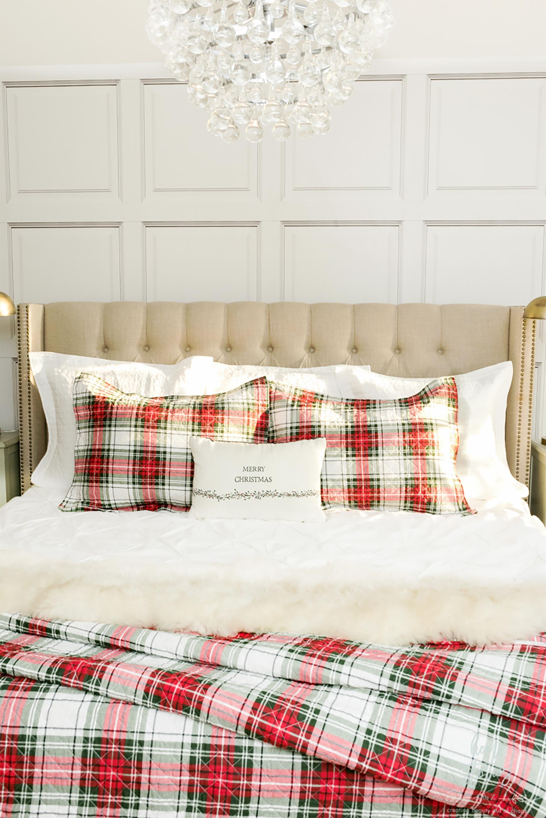 decorazioni natalizie americane per camera da letto