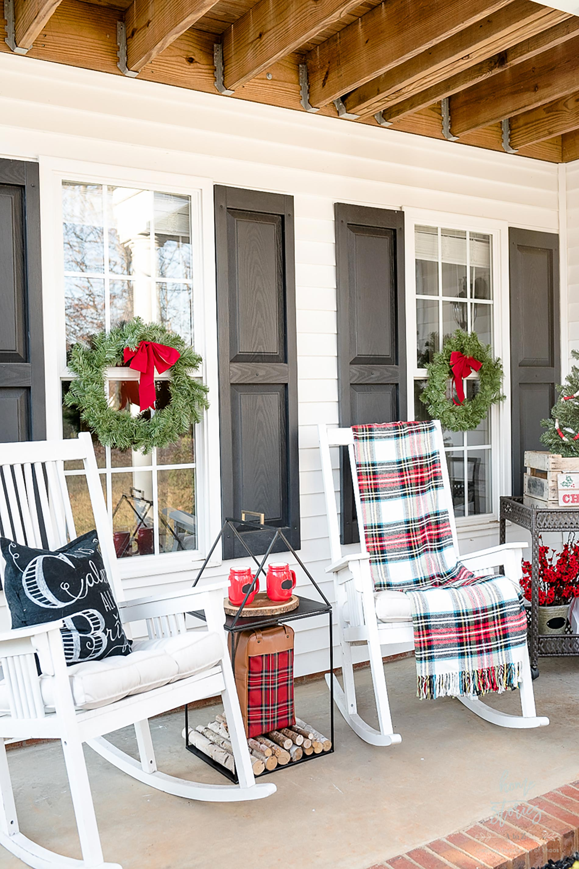 american christmas patio