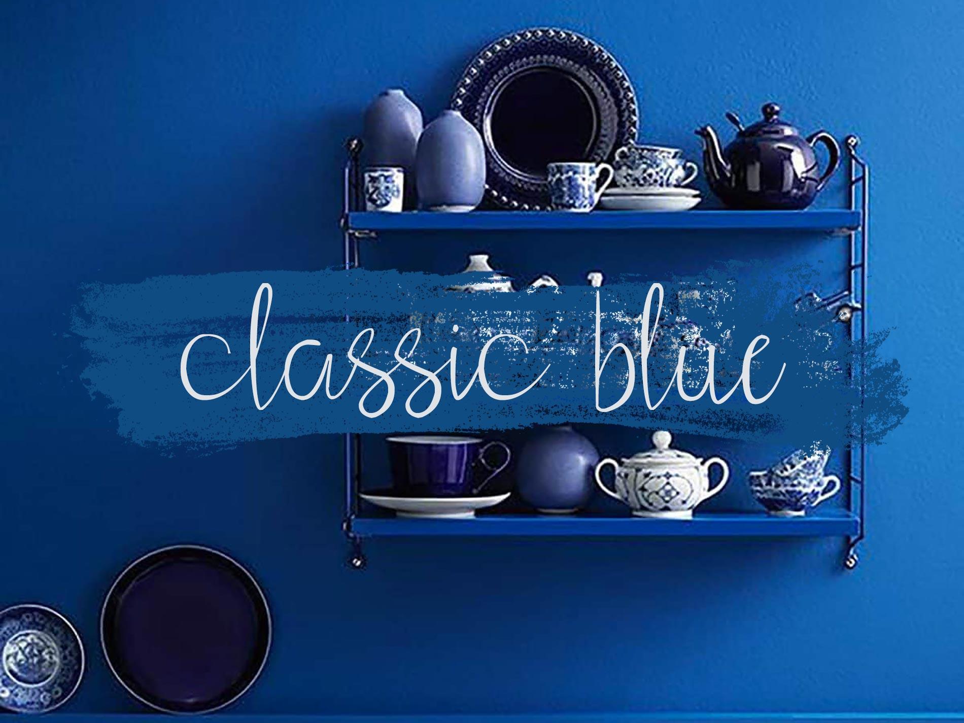 oggetti classic blue per la casa