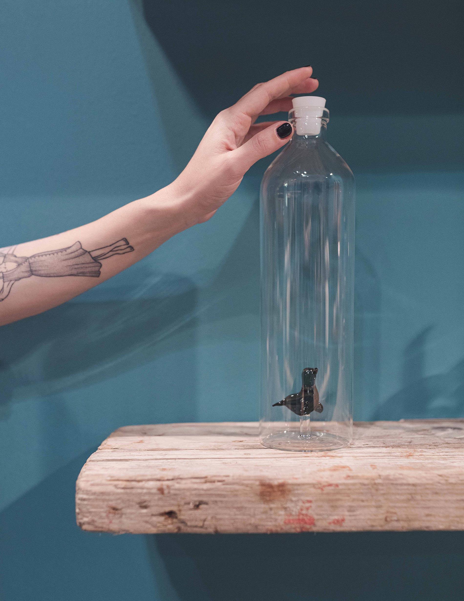 homi 2020 best of bottiglia di vetro soffiato