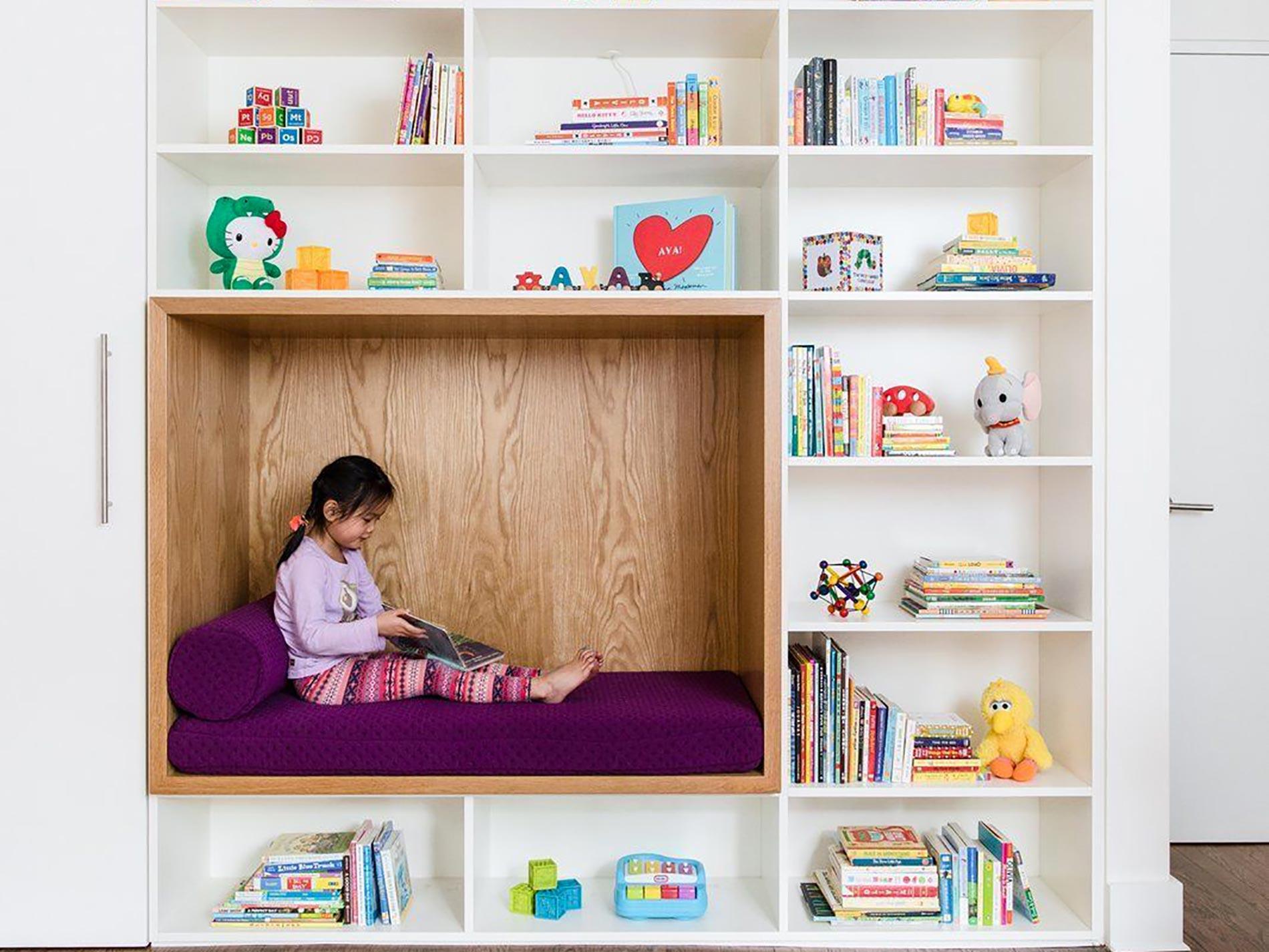 angolo lettura per bambini