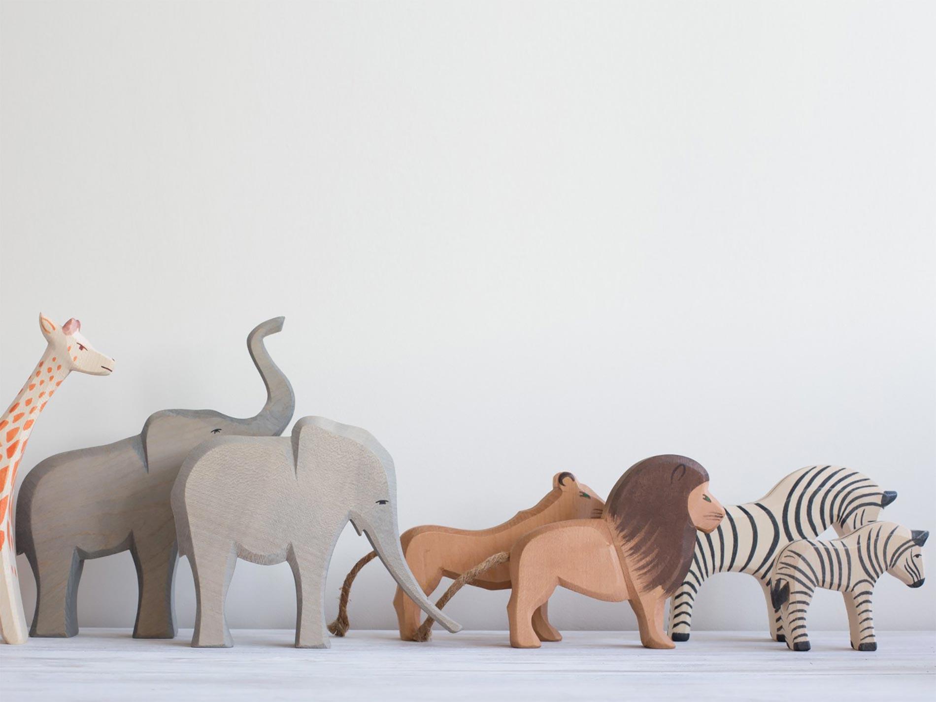 Ostheimer animali in legno per bambini