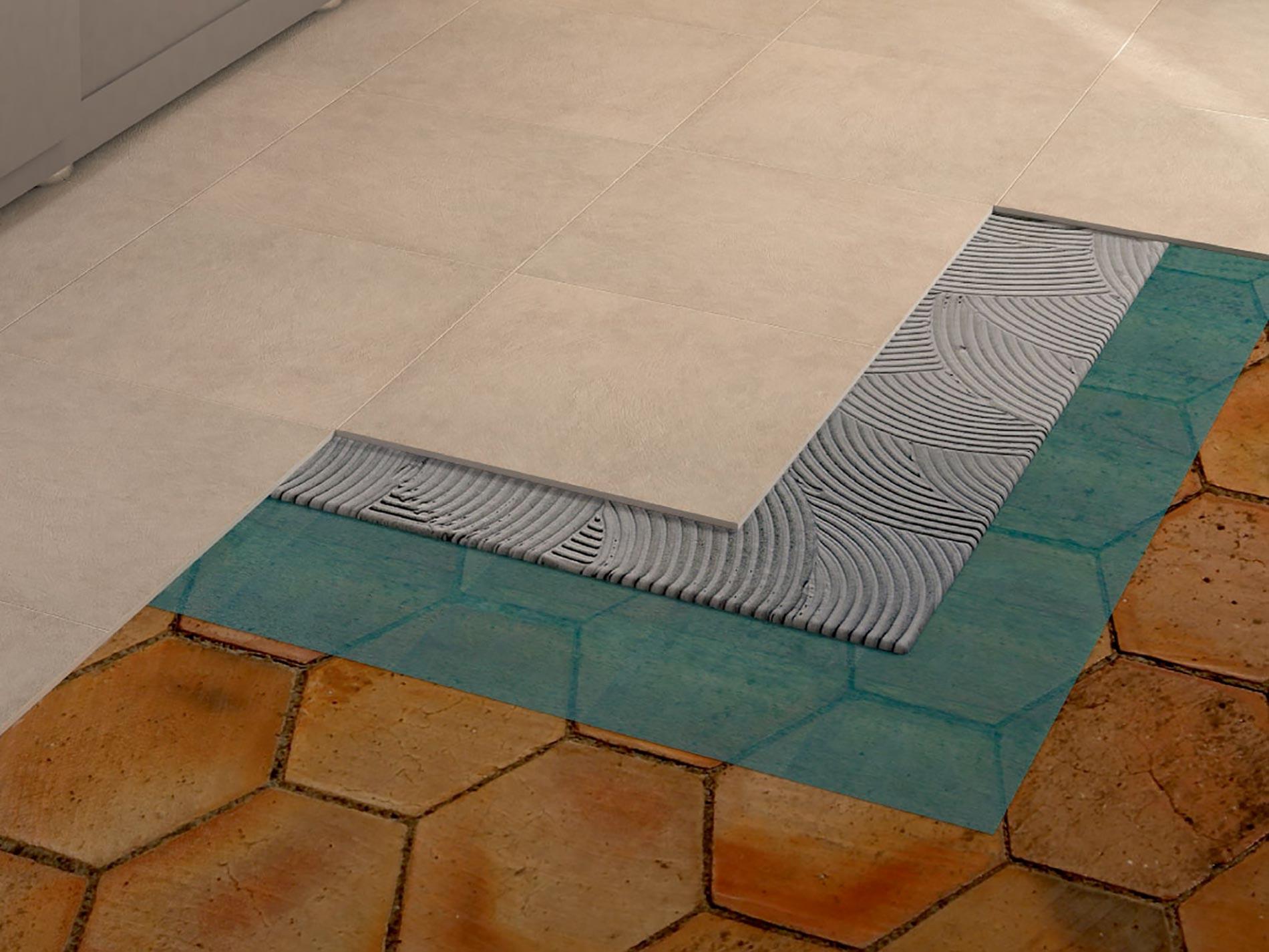 rivestire il pavimento likotol
