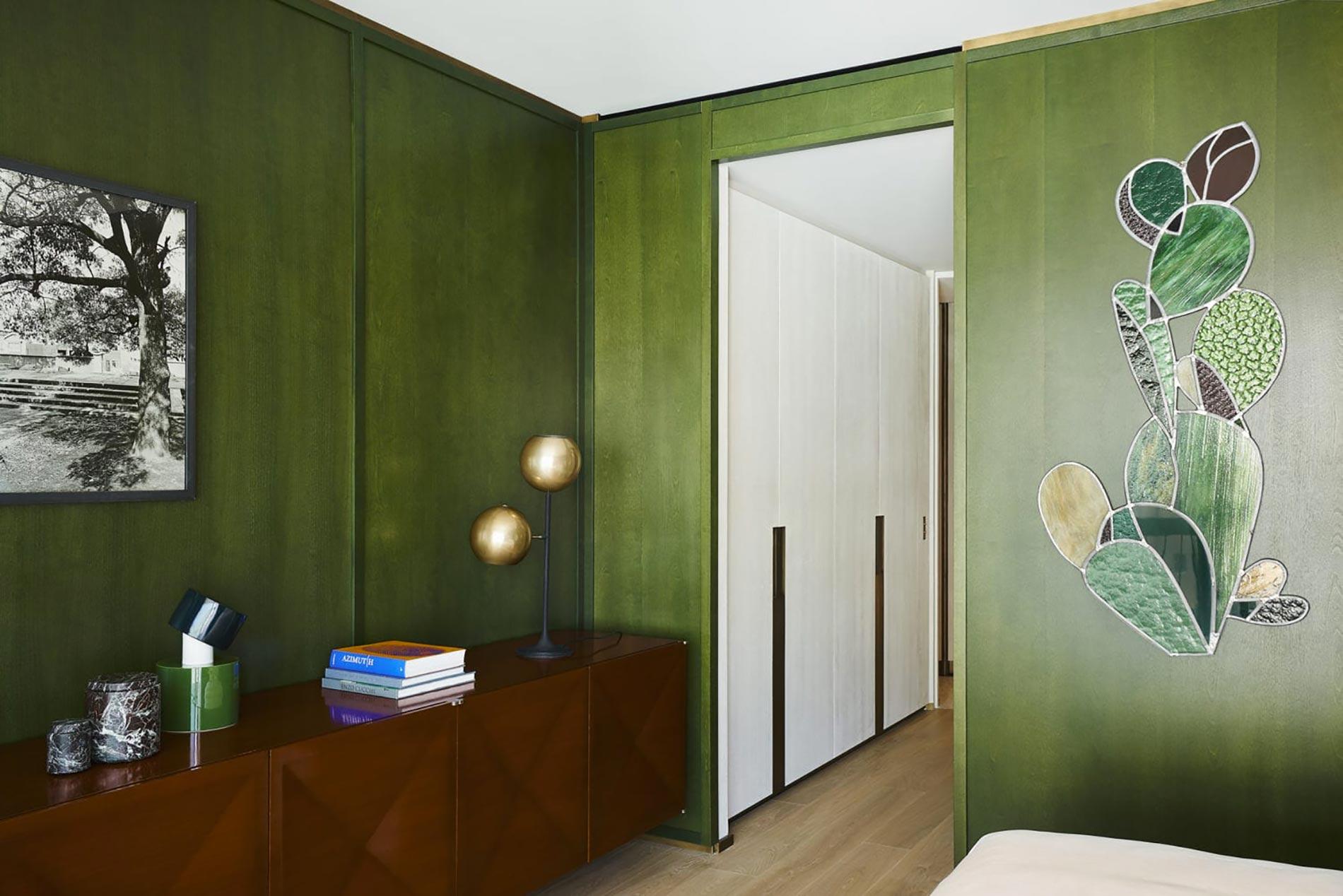 appartamento sud francia camera da letto