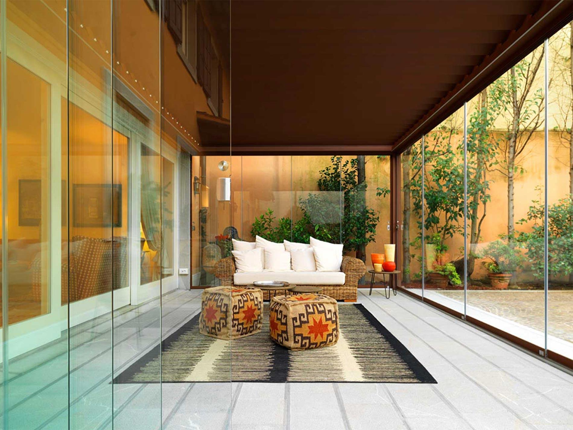 vetrate per veranda