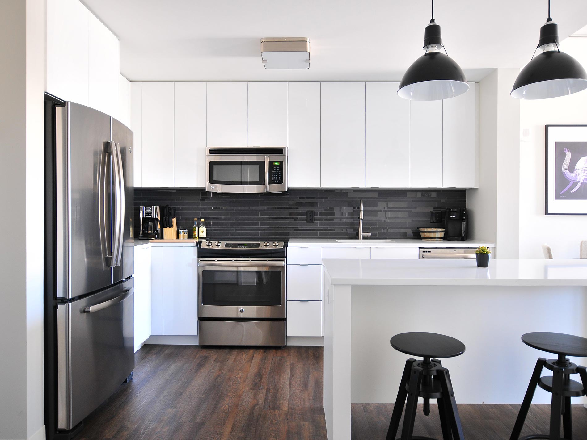 cucina lineare o con isola