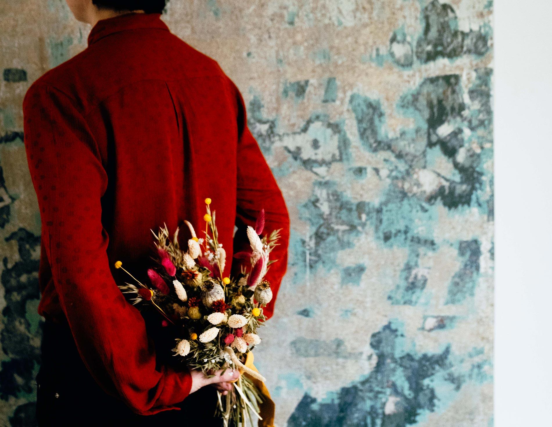 bouquet secco regalo festa della mamma